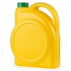 Канистра колесо 4.7л желтая